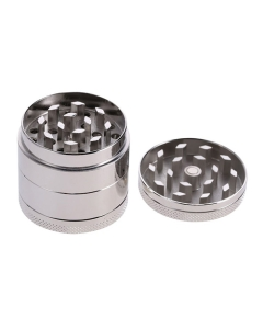 This 4-piece Metal Grinder is very durable and can grind up any type of herbs