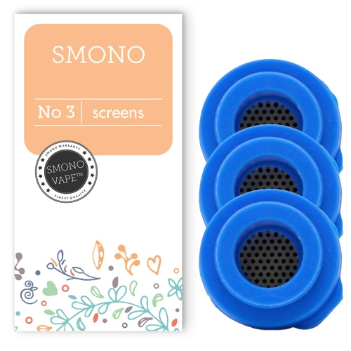 Make sure your vapor is always pure by replacing the Screens regularly in your Smono 3 vaporizer
